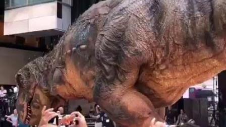 這侏儸紀恐龍,太逼真,太震撼了!