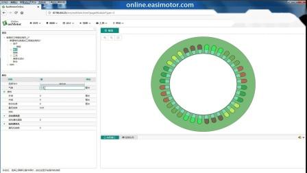 鼠笼式三相感应电机分析