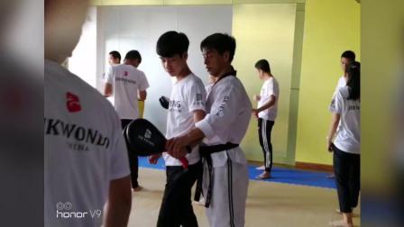 """广西体育高等专科学校""""首屆跆拳師培"""