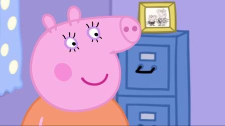 Baby Alexander plays with Peppa