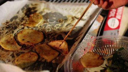 烤土豆片3 出锅