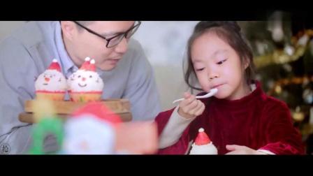 圣诞雪人杯子蛋糕,给孩子们一个不一样的惊喜!