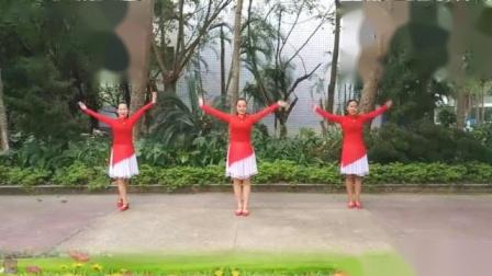 幸福玫瑰广场舞落花 唯美形体舞