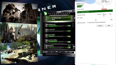 Easy Boost with MSI Afterburner - Сhapter 8 (Recording real time video)