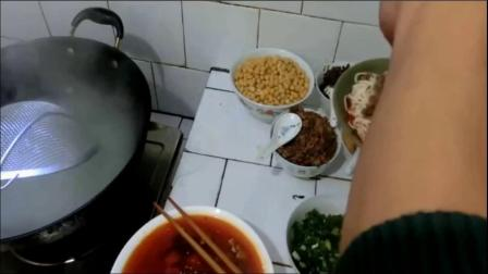 豌豆炸酱面配方 面食的做法教程 重庆小面技术