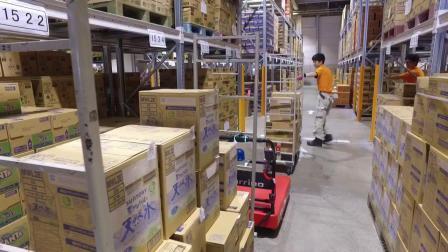 减少搬运往返次数 物流支援机器人CarriRo 物流中心配货使用实例