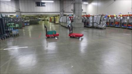 物流智能化 自主移动物流支援机器人 CarriRo 配货仓库使用实例