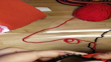 毛线棉鞋编织教程(1)