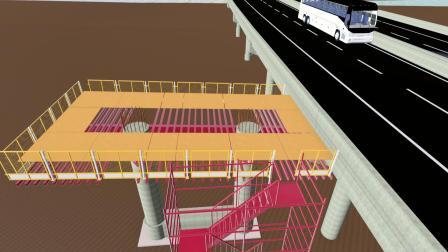 BIM模拟桥梁下部结构施工