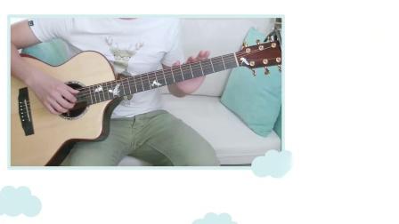 第九课 学习吉他的四大和弦以及右手分解指法 吉他基础教学【星暴音乐】