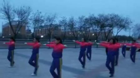 中国新时代健身操内蒙杭锦后旗支队