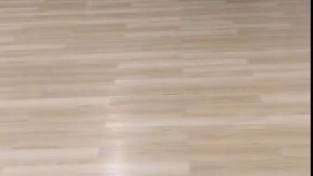 片材刷胶PVC地板,办公室旧地板翻新铺装