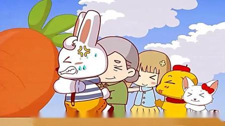 兔小贝幼儿儿歌:《拔萝卜》益智早教,妈妈收藏,儿童歌曲