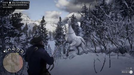 【转载左岸长风】《荒野大镖客2》最好的马捕获教程 阿拉伯马