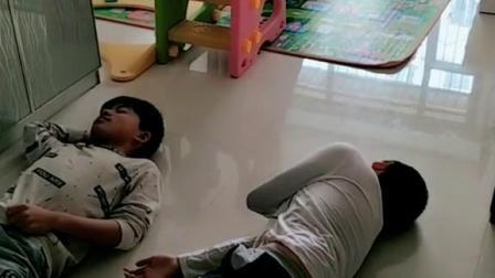 两个哥哥假装晕倒看16个月妹妹先救谁?结局