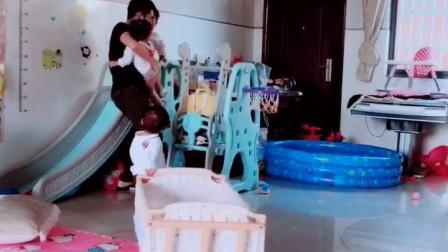 你们老公也这样对宝宝吗?