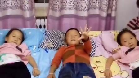 三胞胎-俩丫一小集体高烧38度6