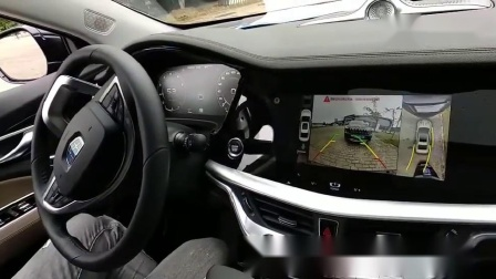 体验了吉利的L2级无人驾驶汽车,具备自动泊车功能!「来自懂车帝车友圈」