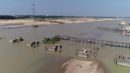 航拍海南 看看海口定安县的南渡江和内地有什么不同!