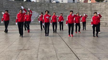 跳跳乐苐十六套苐一节,湖北广水东岳健身队