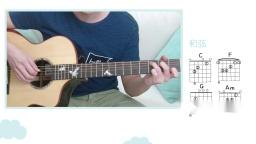 《最美的期待》周笔畅吉他弹唱教学【星暴音乐】女生版