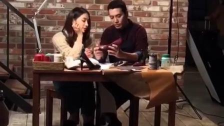 朱相昱李珉廷《命运与愤怒》海报花絮现场