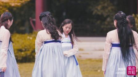单色舞蹈中国舞古典舞《桃花诺》唯美视频  武汉舞蹈培训