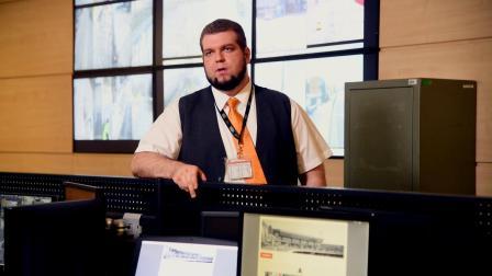 博世案例-布达佩斯机场-操控室工作人员采访