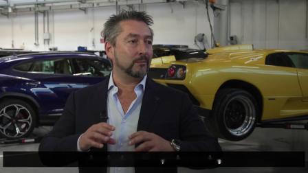 Espada restored by Lamborghini Polo Storico - Part 1