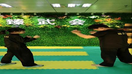 武汉青少年咏春拳散打搏击连环冲拳训练