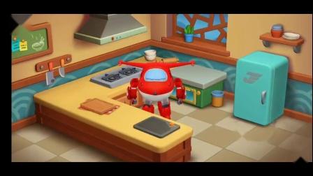 乐迪中餐厅可口的青椒炒培根 超级飞侠游戏