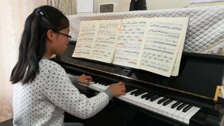 谈莉莉学生钢琴演奏—莫扎特奏鸣曲(演奏者~陈若心)