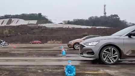 北京现代,菲斯塔加速测试