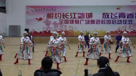 全国广场舞大赛总决赛获奖节目:乌苏里船歌