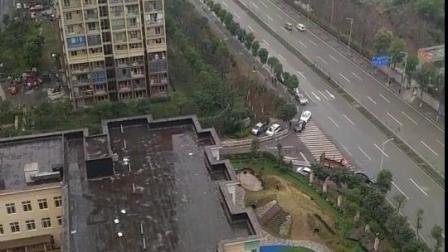 重庆公租房小区里的幼儿园