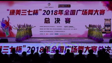 """全国广场舞大赛总决赛获奖节目:丝绸之路""""海南"""""""