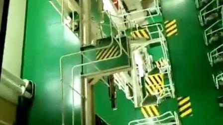 一天耗油五十吨的大型货船主机