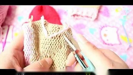 爱心手套的织法视频教程织手套教程