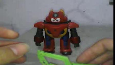 星际军刀的玩具视频之钢甲卡卡龙 介绍