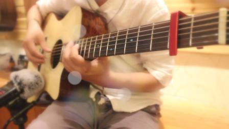 前奏泛音美哭了!吉他指弹 假如爱有天意