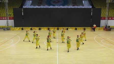 2018年11月1日省第九届老健会健身球操比赛自编套路金奖——广州市代表队《龙舟竞渡》