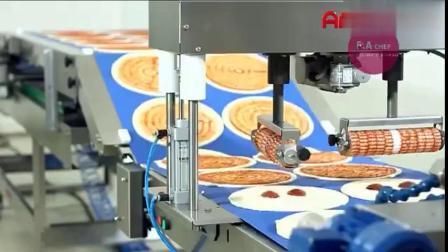 披萨饼的制做全过程,不仅食物美味,过成也很享受啊!