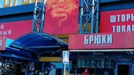 这是中国城批发服装,鞋帽,小百的一个市场