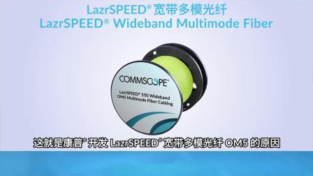 LazrSPEED OM5宽带多模光纤可有效减少带宽