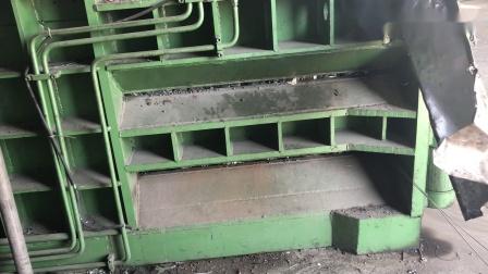 卧式废钢压块打捆机