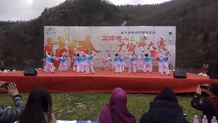 博山老年体协健身艺术团 响扇舞武 中国美