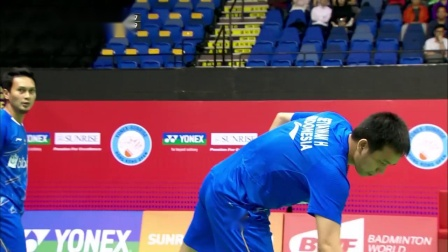 2018年中国香港羽毛球公开赛男双八强比赛集锦