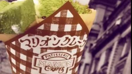 日本新品抹茶味可丽饼,非常好吃