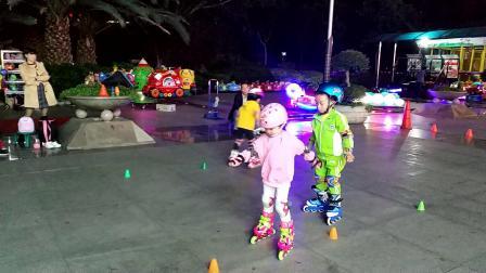 儿童学轮滑