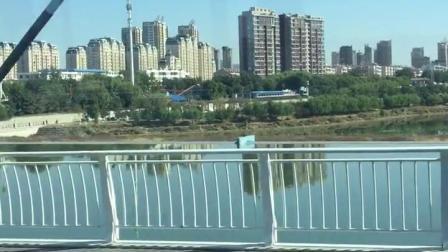 锦州~云飞桥上赏东湖美景,美好景色尽